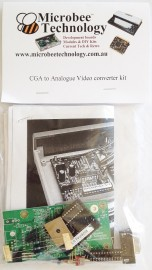CGA to VGA Scaler Adapter PCB short form KIT