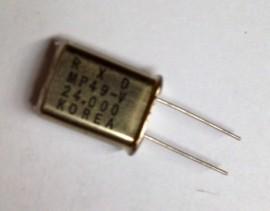 Crystal - HC49 - 24.00Mhz